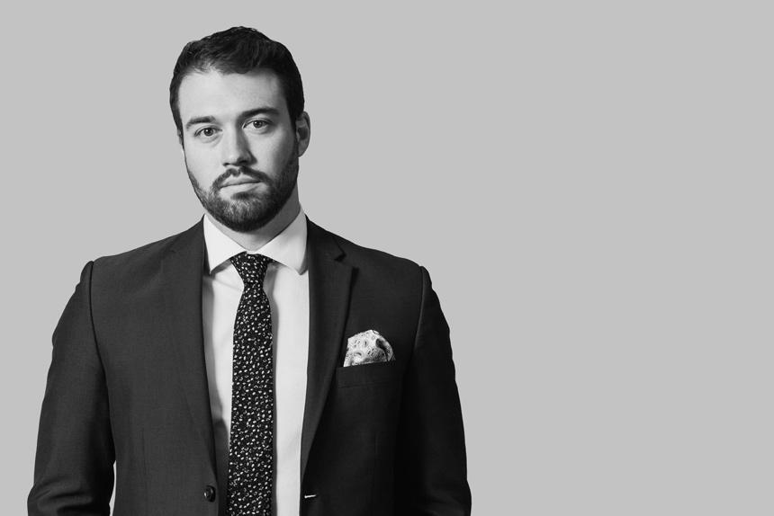 Portrait of Lawyer Jared Kelly Key Murray Law