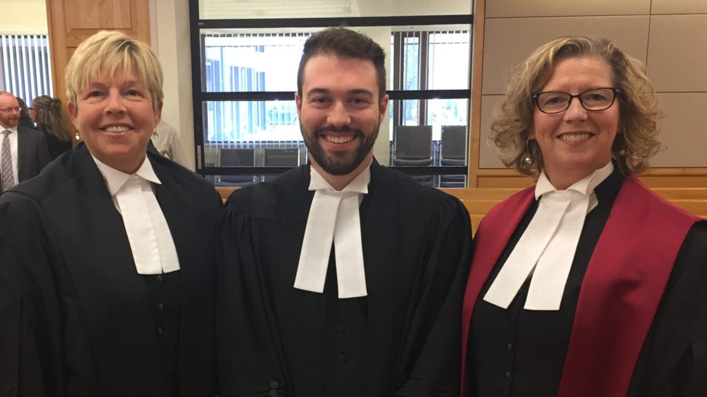 Jared Kelly recently called to the bar.